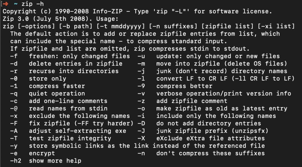 ZIP архив с паролем
